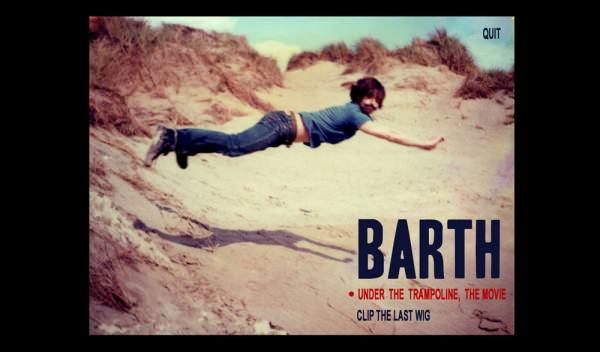 "CD-ROM de l'album de l'artiste ""Barth"""